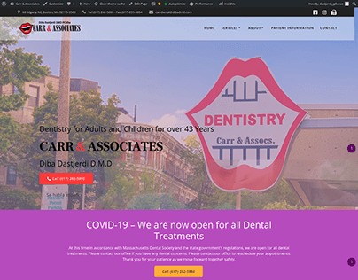 Carr & Associates Website