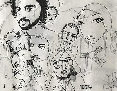 Random Doodles/Sketches