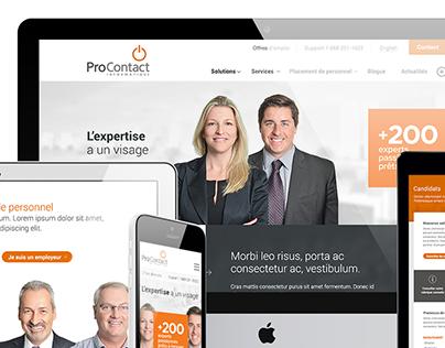 ProContact - Site Internet