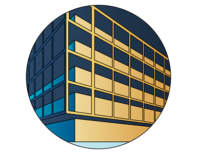 Residential building Logo