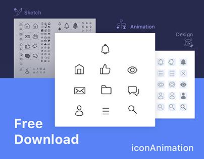iconAnimation - Freebie