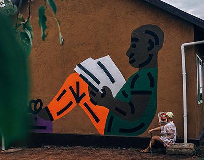 Reader Mural in Africa