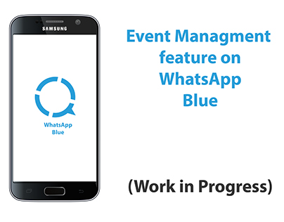 Event Management feature on Whatsapp