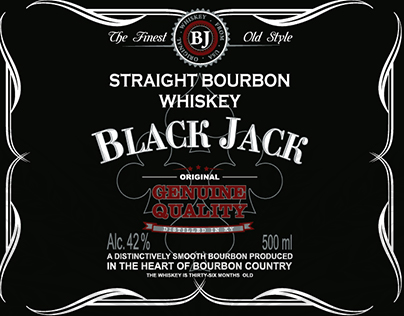Ready-to-print whiskey labels