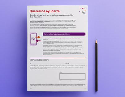 Offline - Documento - Tienda física BQ