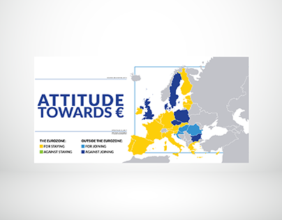 Attitude toward euro across EU.