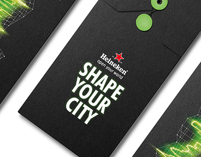 HEINEKEN - SHAPE YOUR CITY INVITATION