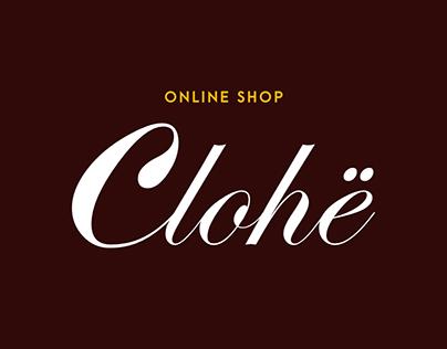 Clohë - Online Shop