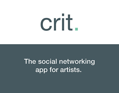 Crit. A social networking app for artists
