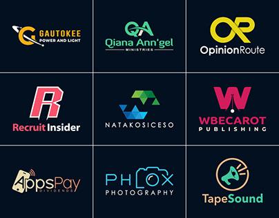 Logo Design, Minimal Logo, Creative Logo, Flat Logo