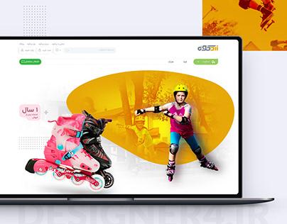 zardkooh Landing Page