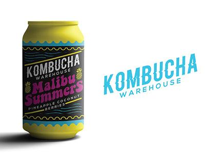 Kombucha Warehouse Branding