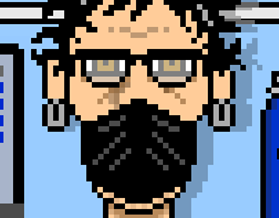 Portrait of the Artist as a Pixel