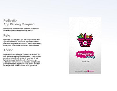 Picking App Merqueo