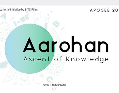 Aarohan Web UI