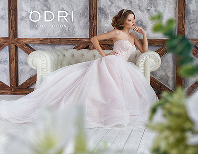 "Advertising shooting collection for ""ODRI"" salon 2016"