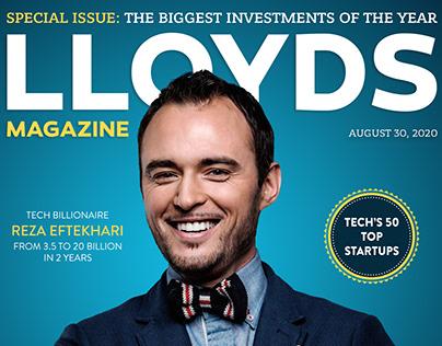 BUSINESS Magazine Cover - Photoshop Magazine Design