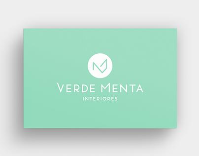 Brand identity - Verde Menta Interiores