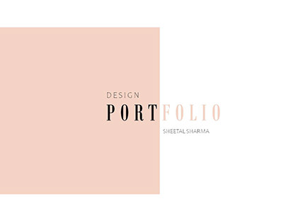 Design Portfolio- Textile & Fashion
