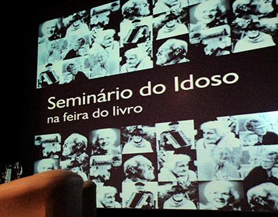 Fotos do Seminário do Idoso na Feira do Livro