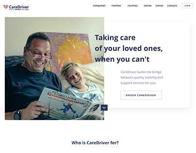Care Driver: Website in 3 weeks