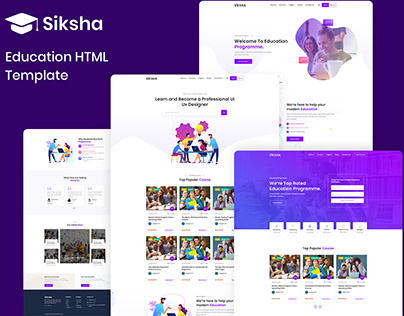 Siksha – Education HTML5 Template
