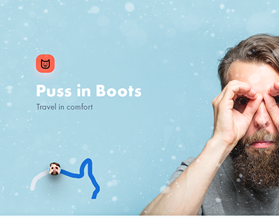 Puss in Boots — travel app