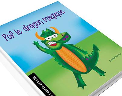 Illustration numérique - Pof le Dragon Magique