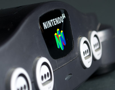 Nintendo 64 Product Shot