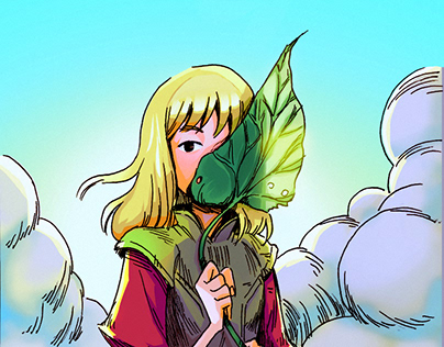 Practicing coloring in this @loyola_ju drawing!