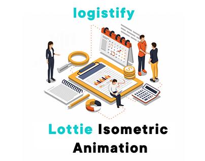Lottie Isometric Animation