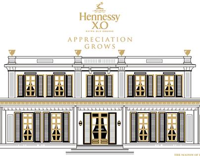 Hennessy X.O Appreciation Grows