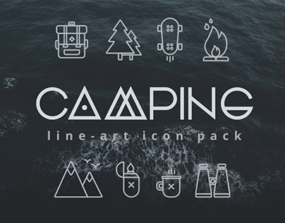 CAMPING (Free Icon Pack)