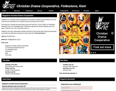 StageOne Christian Drama Cooperative