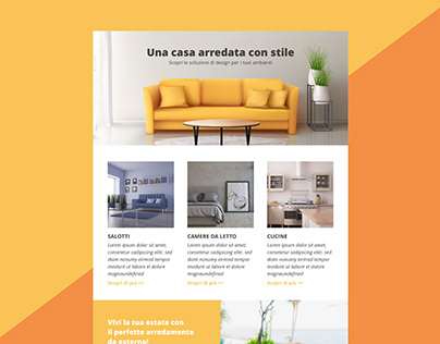 Newsletter Furniture Template