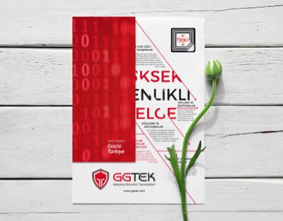 GGTEK Broşür Tasarımı