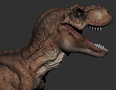 T - Rex Zbrush Sculpt