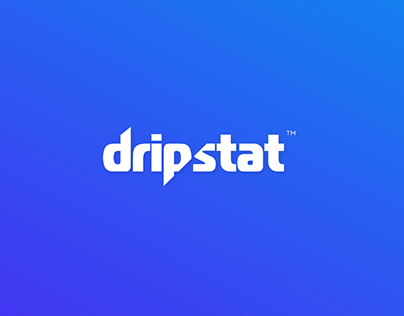 Dripstat - Full Brand Identity and Website Look & Feel