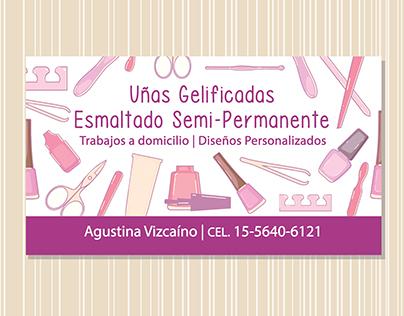 Uñas Gelificadas | Agustina Vizcaíno