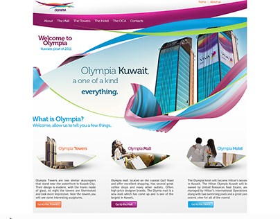 Olympia Mall website