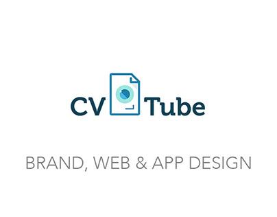 Brand, Web & App design · CVtube