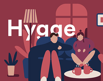 Living Hygge - Illustration Series