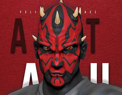 3D Character Modeling - Darth Maul