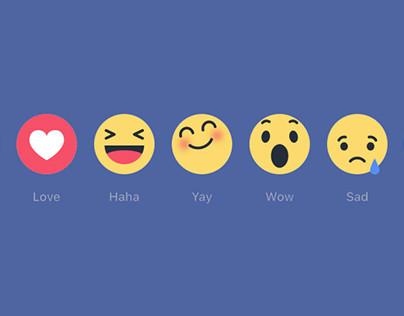 Facebook Reactions High Resolution
