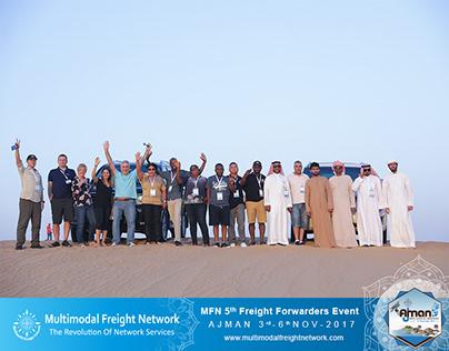 MFN Ajman 2017 Freight Forwarders Event ( Safari )