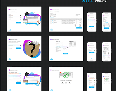 School Accounting NG UI design
