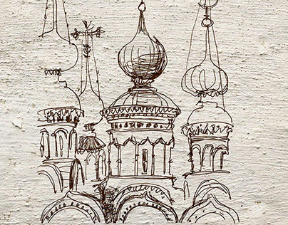 Suzdal's postcards