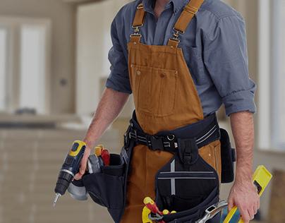 WellCome! Identity for Handymans.