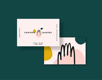 Curious Makers | Branding