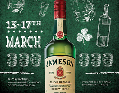Event Branding: Jameson